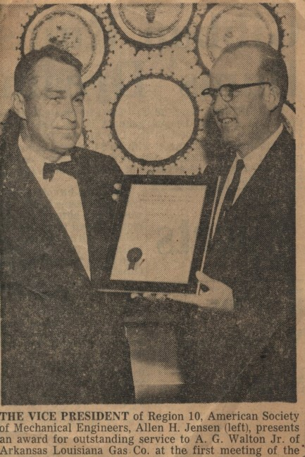 Mr  Albert A G  Gibson Walton Jr  Obituary - Shreveport, LA