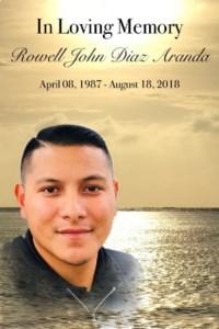 Rowell John Diaz  Aranda