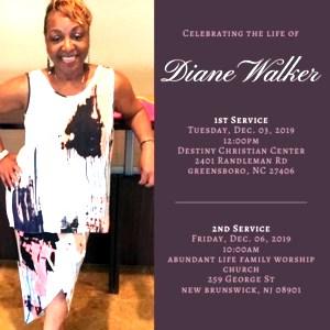 Diane Grace  Walker