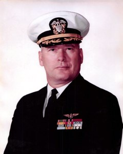 Cmd. William E.  Berrie, USNR, (Ret)