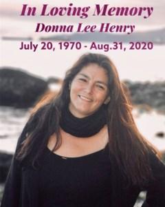 Donna Lee  Henry