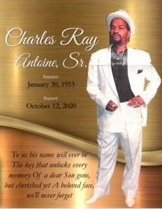 Charles Ray  Antoine Sr