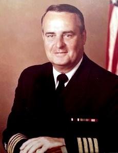 Captain John Francis  Hamilton, USN Retired