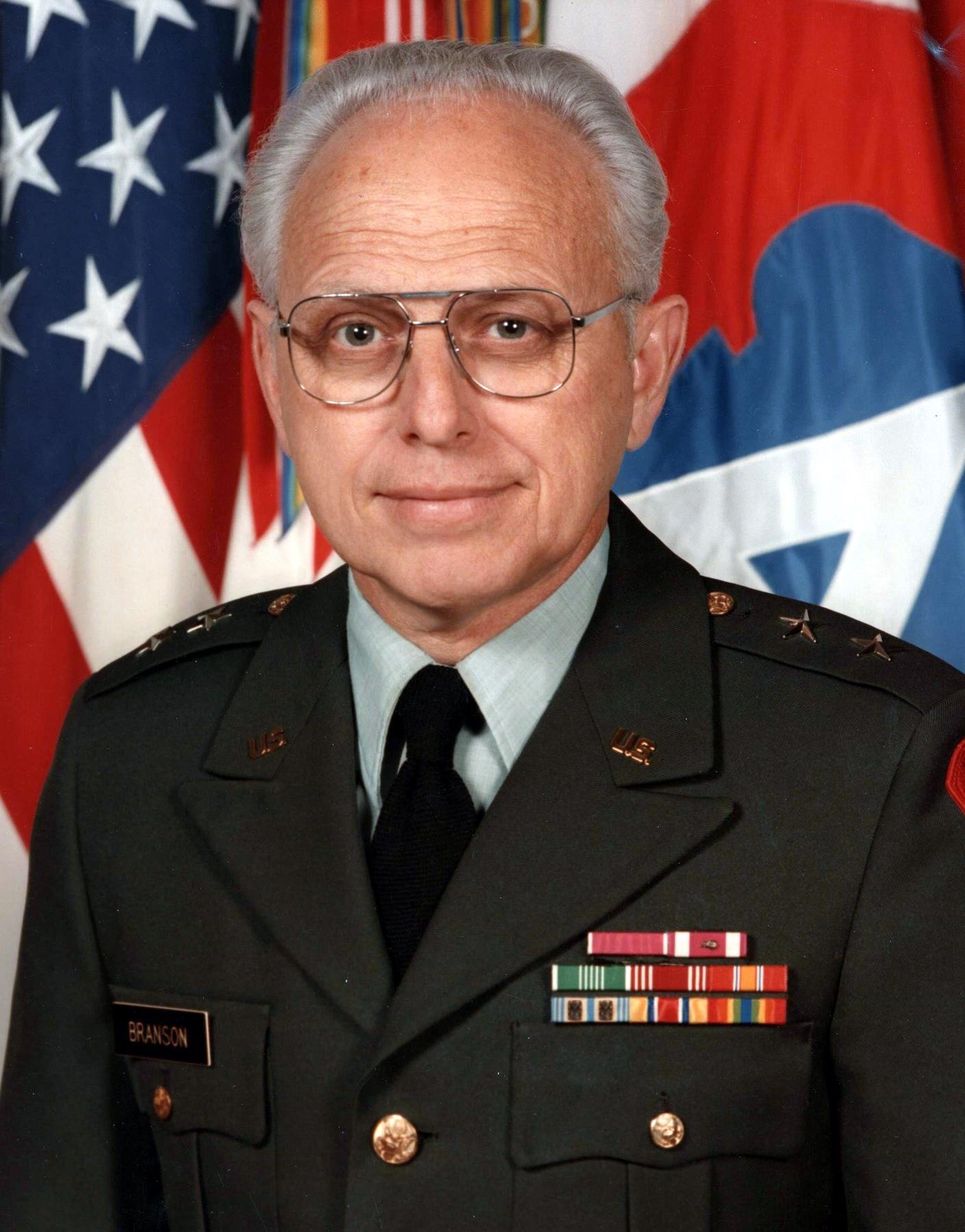 MG Bill C.  Branson, USA Retired