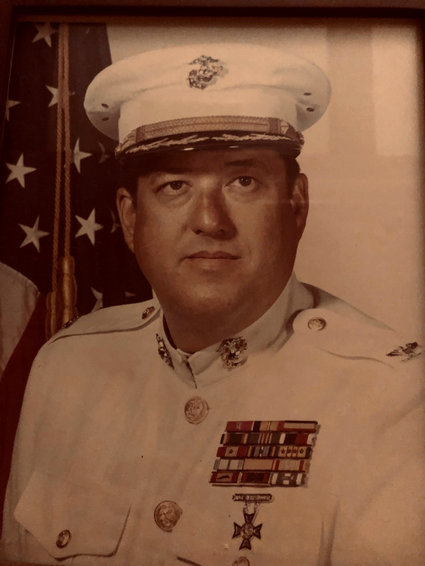 Col. William A.  Tate USMC (Ret.)