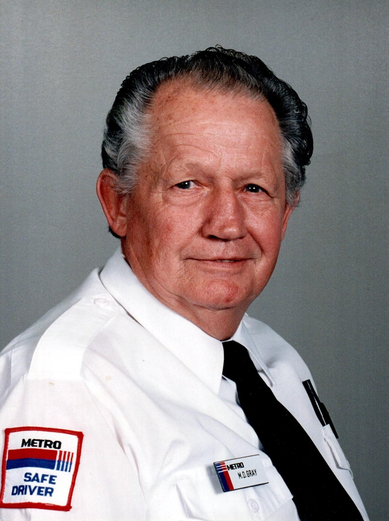 Melvin Donald  Gray