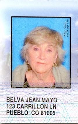 Belva Jean  Mayo