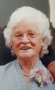 Maude Edith  Callioux