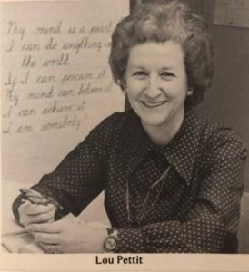 Mrs. Ella Lou  Pettit McDaniel