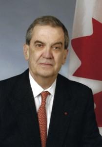 L'Hon. Pierre  De Bané, C.P., C.R.