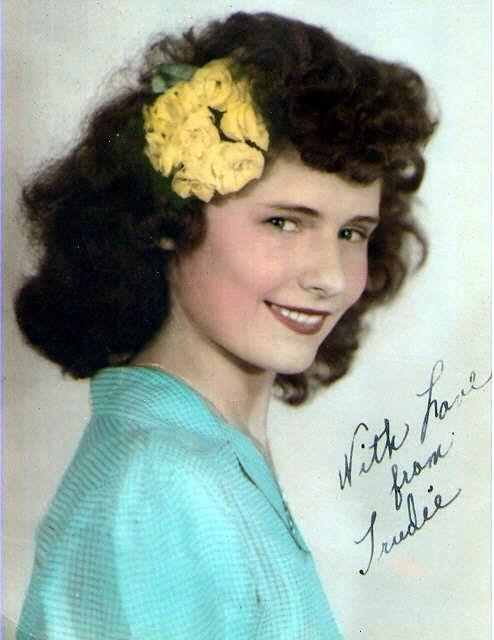 "Gertrude Virginia ""Trudie"" Bartley Drury  Logsdon"