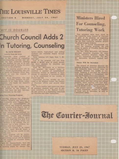 Rev  C  Gerald Summerfield Obituary - Louisville, KY