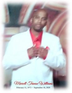 "Marcell ""Truck"" Travon  Williams Sr."